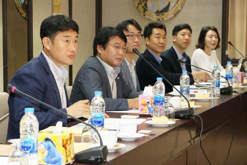 ต้อนรับคณะผู้แทนสมาคม KALIA ประเทศเกาหลีใต้